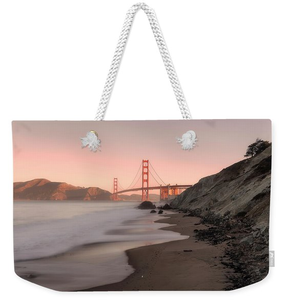 Sunrise In San Fransisco- Weekender Tote Bag