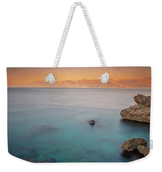 Sunrise In Turkey Weekender Tote Bag
