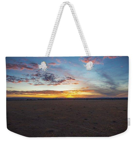 Sunrise Over The Mara Weekender Tote Bag