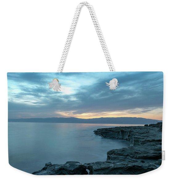 Before Dawn At The Dead Sea Weekender Tote Bag