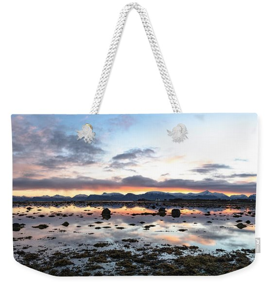 Sunrise Over The Marsh Weekender Tote Bag