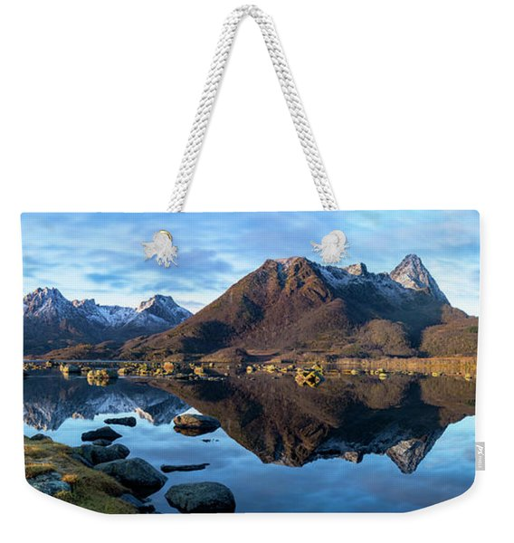 Sunrise Reflections Weekender Tote Bag