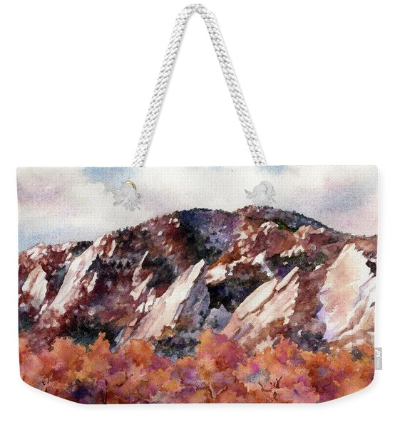 Sunrise Splendor Weekender Tote Bag