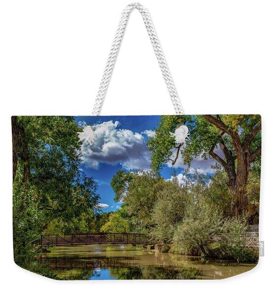 Sunrise Springs Weekender Tote Bag