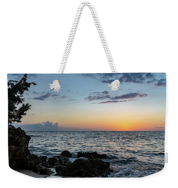 Sunset Afterglow In Negril Jamaica Weekender Tote Bag