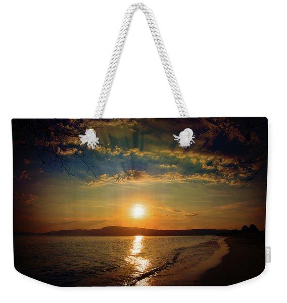 Sunset Artistry Weekender Tote Bag