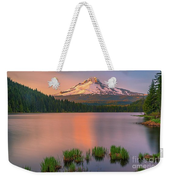 Sunset At Mt Hood, Oregon, Usa Weekender Tote Bag
