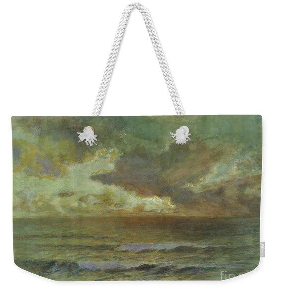 Sunset At Seascale Weekender Tote Bag