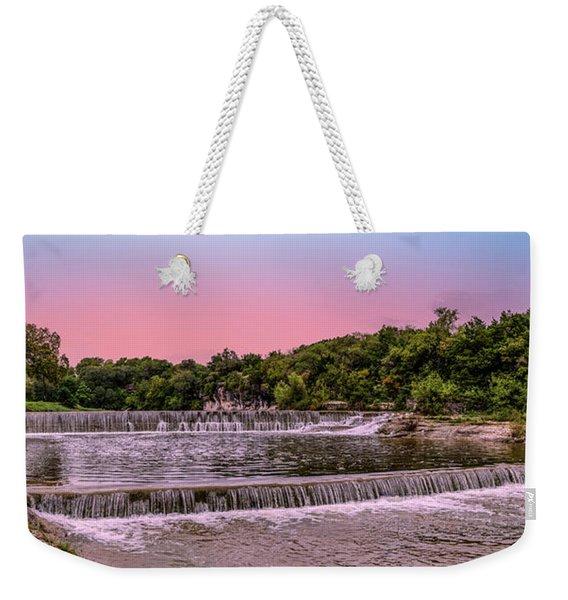 Sunset At The Falls Weekender Tote Bag