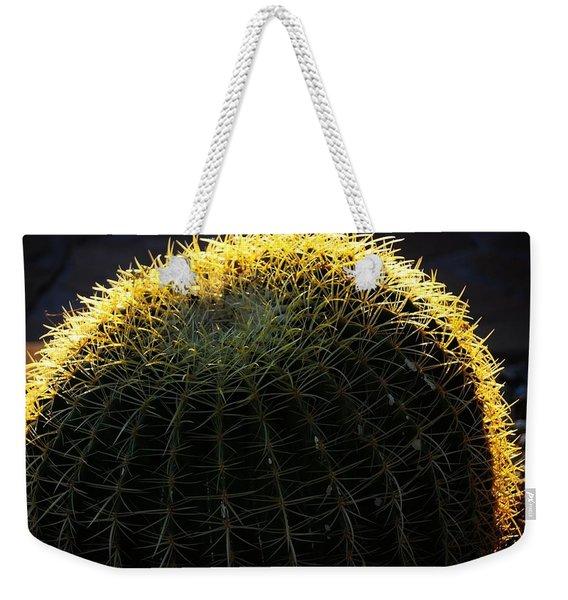 Sunset Cactus Weekender Tote Bag