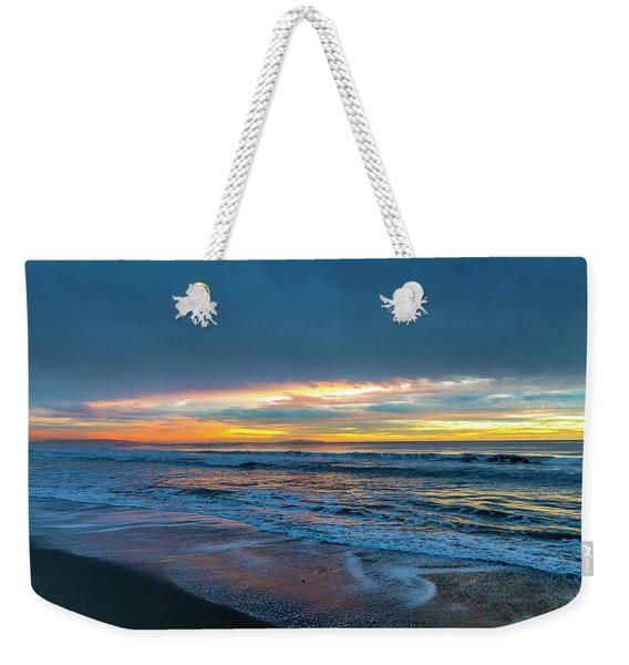 Sunset Fire Over Catalina Island 2 Weekender Tote Bag