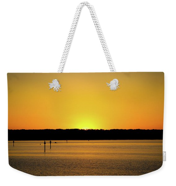 Sunset From National Harbor Weekender Tote Bag