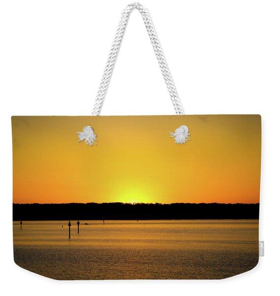 Sunset From National Harbor Weekender Tote Bag