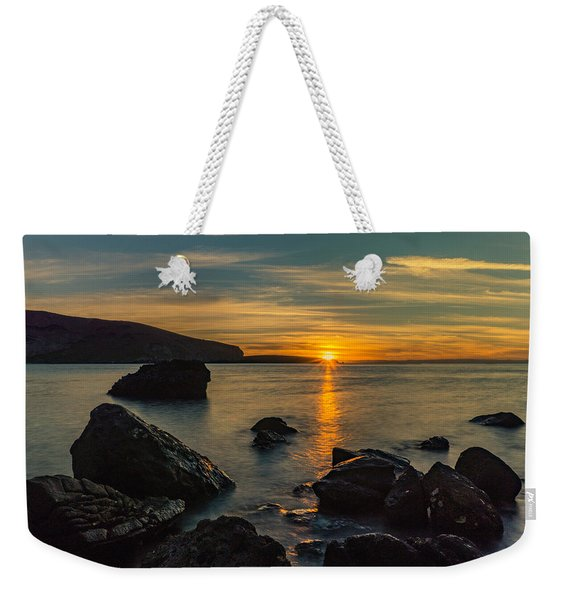 Sunset In Balandra Weekender Tote Bag
