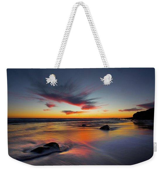 Sunset In Malibu Weekender Tote Bag