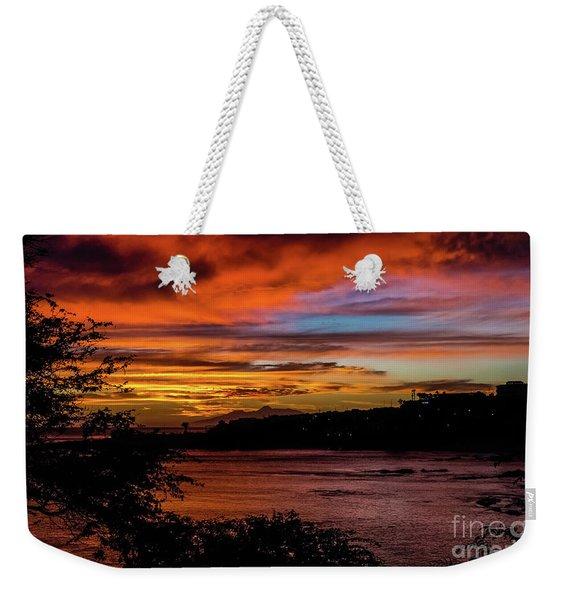 Sunset In Praia, Cape Verde Weekender Tote Bag