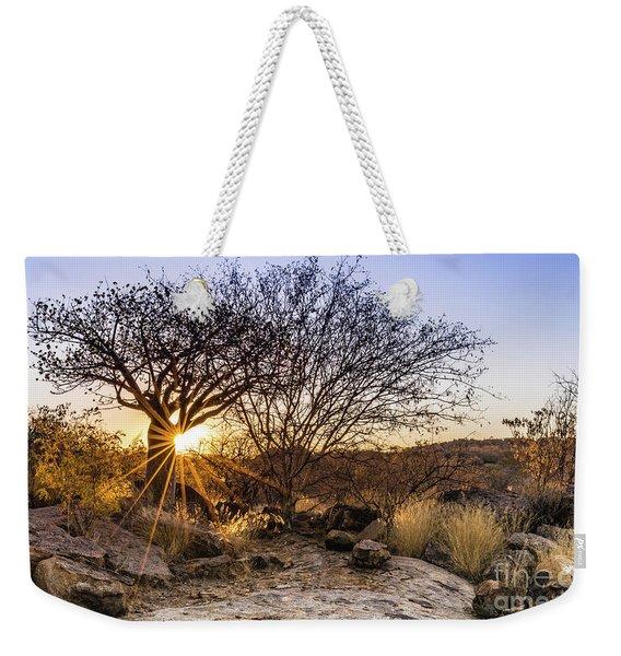 Sunset In The Erongo Bush Weekender Tote Bag