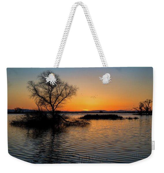 Sunset In The Refuge Weekender Tote Bag
