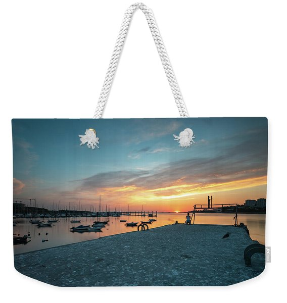 Sunset Looker Weekender Tote Bag