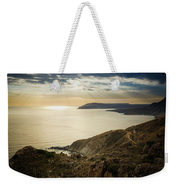 Sunset Near Tainaron Cape Weekender Tote Bag