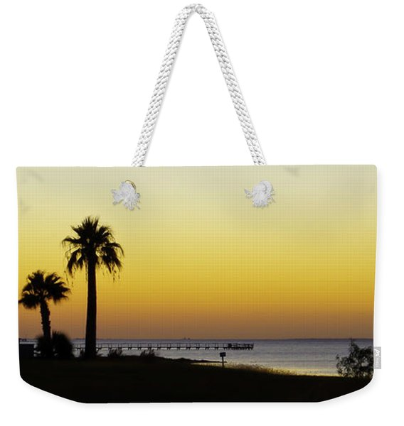 Sunset On Copano Bay, Texas Weekender Tote Bag