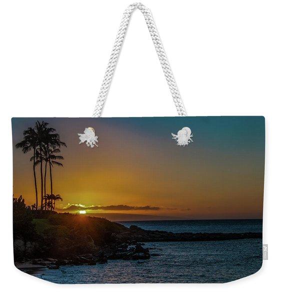 Sunset On Kapalua Weekender Tote Bag