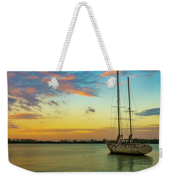 Sunset On The Lagoon Weekender Tote Bag
