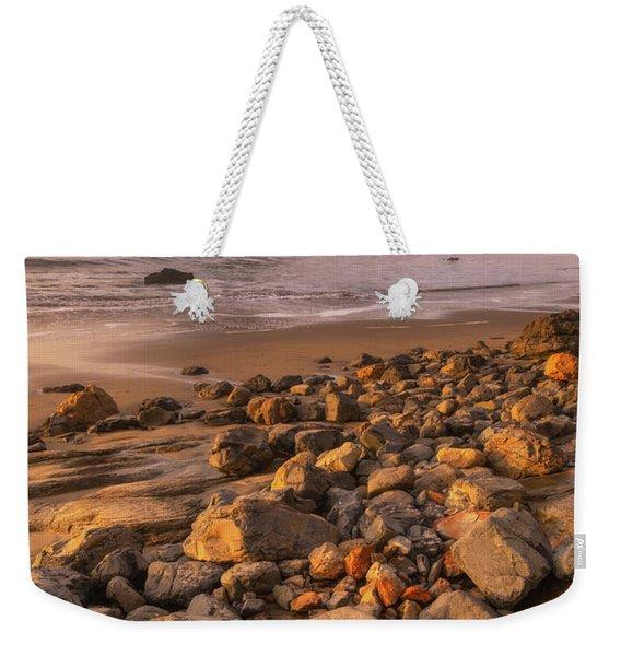 Sunset On The Rocks Weekender Tote Bag