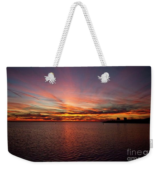 Sunset Over Canada Weekender Tote Bag