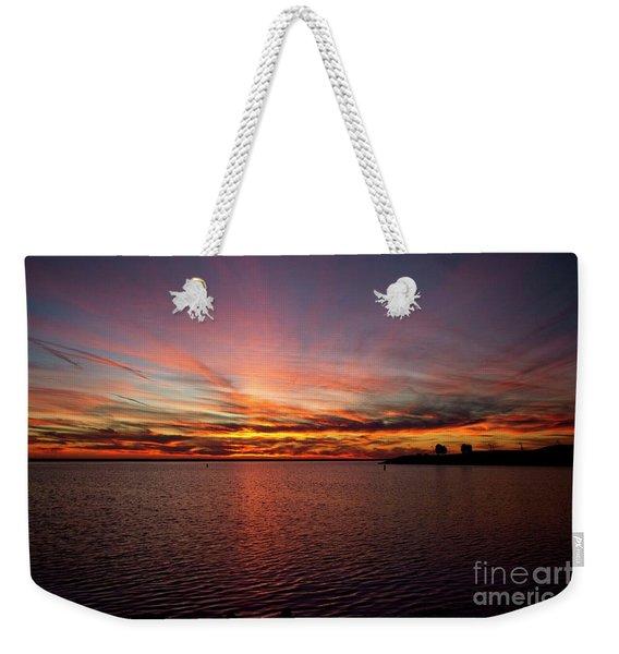 Sunset Over Canada Weekender Tote Bag