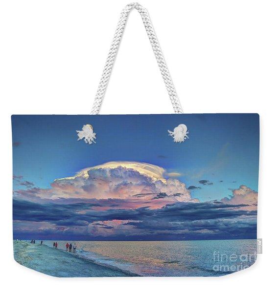 Sunset Over Sanibel Island Weekender Tote Bag