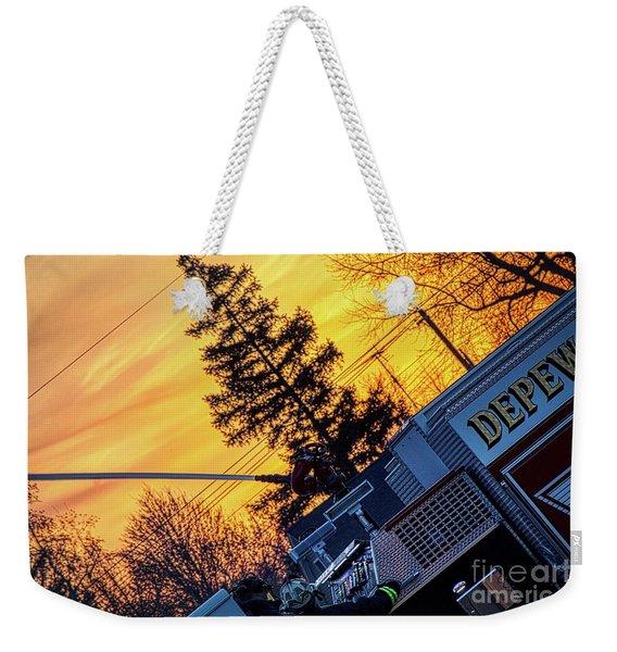 Sunset Streams Weekender Tote Bag