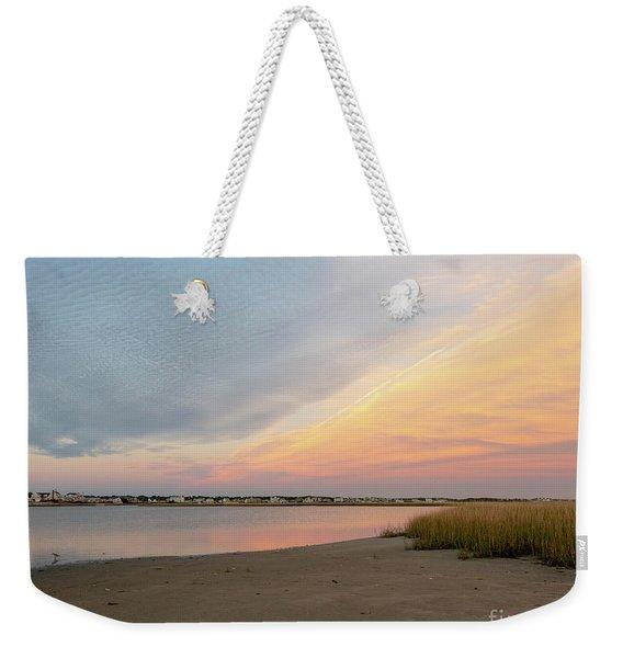 Sunset West Dennis Cape Cod Weekender Tote Bag
