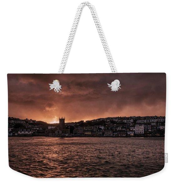 Sunset Harbour Weekender Tote Bag