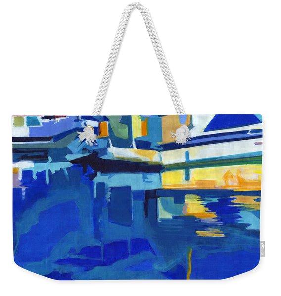 Sunshine Blues Weekender Tote Bag