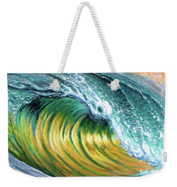 Surf Into The Sunset Weekender Tote Bag