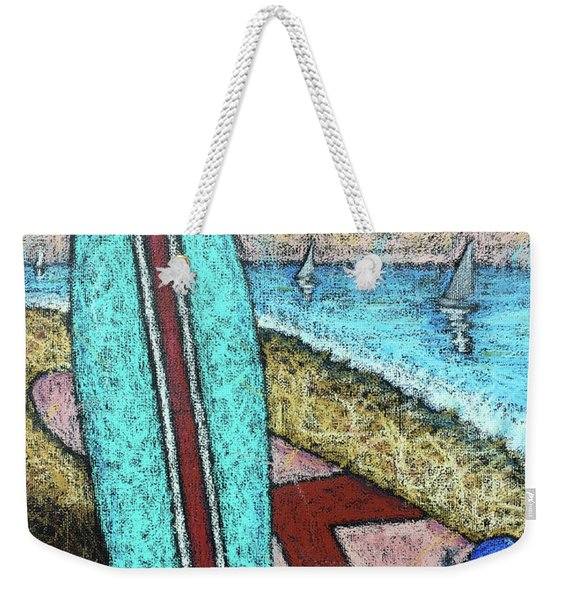 Surfing And Sailing Weekender Tote Bag