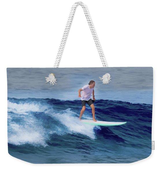 Surfing Andy Weekender Tote Bag