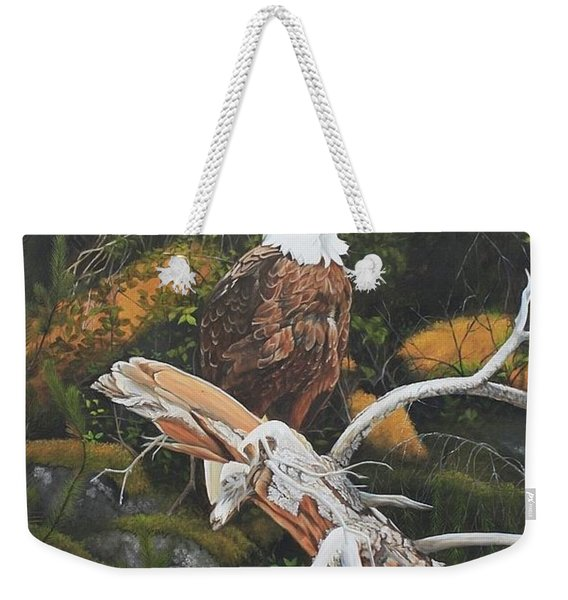 Surveying The Sea Weekender Tote Bag