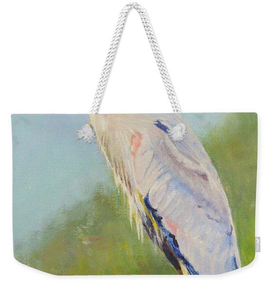 Surveyor - Great Blue Heron Weekender Tote Bag
