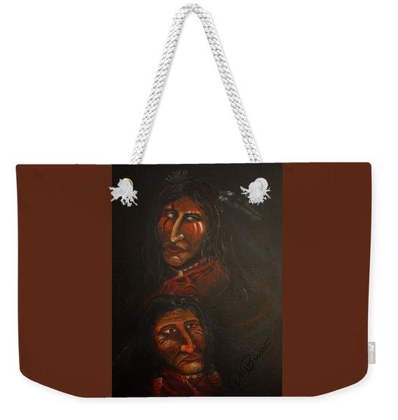 Suspicion Weekender Tote Bag