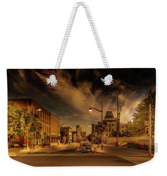 Weekender Tote Bag featuring the photograph Sussex Dr by Juan Contreras