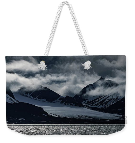 Svalbard Mountains Weekender Tote Bag