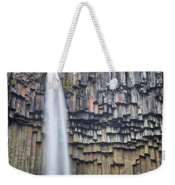 Svartifoss Portrait Iceland Weekender Tote Bag
