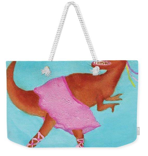 Swan Rex Weekender Tote Bag