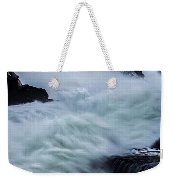 Swallowed By The Sea Weekender Tote Bag
