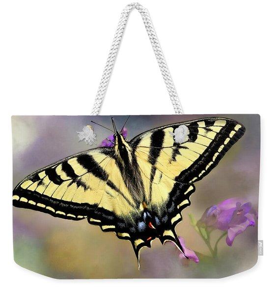 Swallowtail On Penstemon Weekender Tote Bag