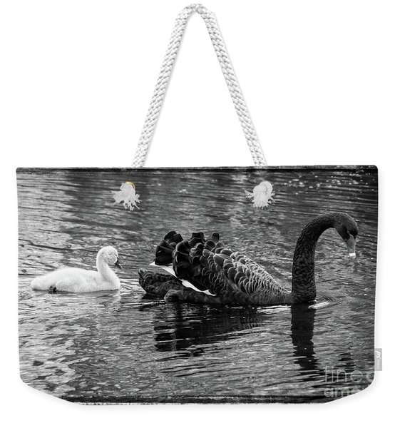 Swan And Signet Weekender Tote Bag