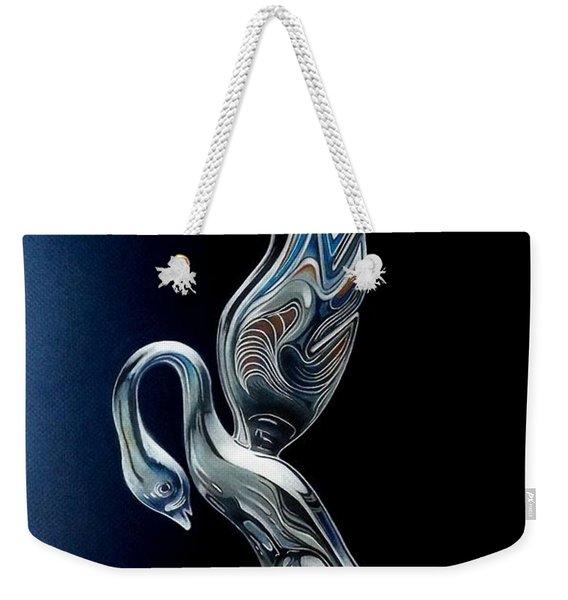 Swan Weekender Tote Bag