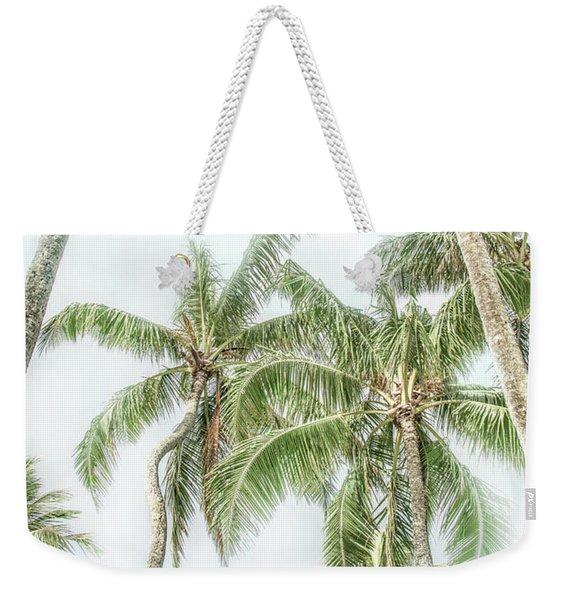 Swaying Palms Weekender Tote Bag